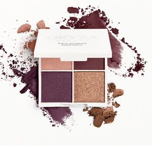 3/$15 ORYZA Beauty amethyst eyeshadow quad